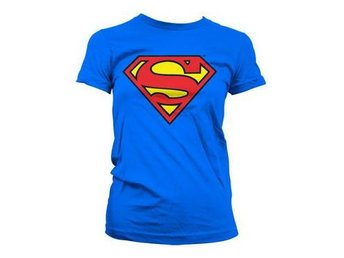 Superman T-shirt Shield Dam L