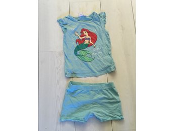 Disney princess pyjamas ariel turkos