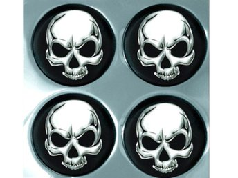 Alu Wheel Trim Skulls