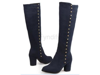 Dam Boots warm shoes boot P15945 EUR size 32-48 Blue 42