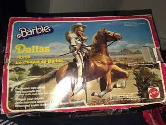 Dallas horse och Skipper Barbie 1963