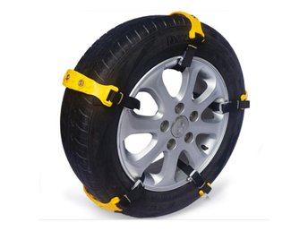 10pcs Car Tire Snow Chains Beef Tendon VAN Wheel Tyre Ant...