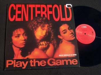 "CENTERFOLD - PLAY THE GAME 12"" 1989 TOPPSKICK!!"