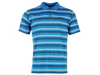 Donnay Stripe Polo Pike BLÅ LARGE