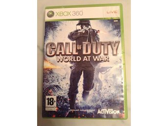 Call Of Duty, World At War. COD. Xbox 360.