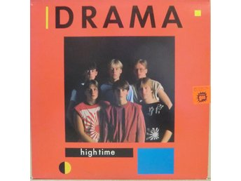 Drama-High time / Norge pressad LP (Desperado Records)