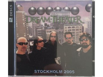 Dream Theater - Live In Stockholm 2005. 2-CD.