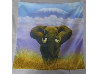 Elefant Kudde / Elephant Cushion Cover