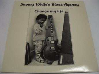 "LP "" Change my life"" med Snowy White´s Blues Agency"