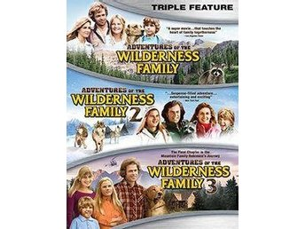 Adventures Of The Wilderness Family Trilogy (DVD) - Trollhättan - Adventures Of The Wilderness Family Trilogy - ny och inplastad DVD.DVD region 1 (kräver en regionsfri dvdspelare).Engelskt tal. Engelsk text. Widescreen. 305 minuter.***Celebrate the exciting adventures of the beloved Wilderness Family wit - Trollhättan