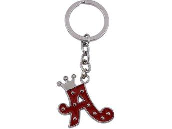 Nyckelring Bokstav A (300982830) ᐈ mzmode på Tradera 74d73b961b9e9