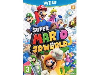 Wii U - Super Mario 3D World (Originalutgåva) (Beg)