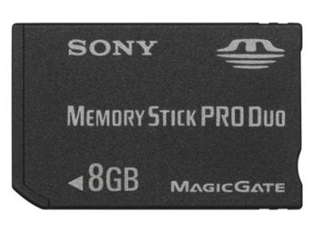 PSP - Memory Stick Pro Duo 8GB (Sony) (Beg)