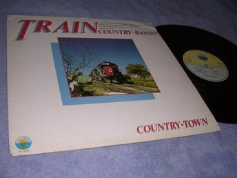 Train Country-Band Country Town (LP) EX/VG+