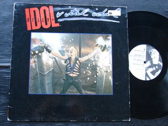 BILLY IDOL - Vital idol Chrysalis -85 LP
