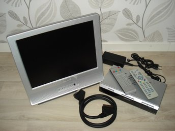 "Philips 14"" LCD TV med DVB-T box"