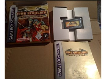 Fire Emblem The Sacred Stones (GBA Game Boy Advance) komplett Väldigt gott skick