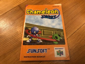 Chameleon Twist - Nintendo 64 manual