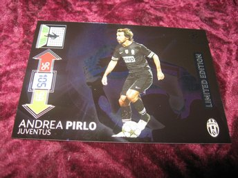 ANDREA PIRLO-JUVENTUS-LIMITED EDITION-UEFA CHAMPIONS LEAGUE 2012/2013