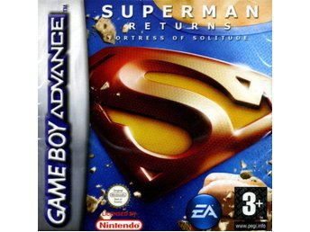 Superman Returns: Fortress of Solitude - Gameboy Advance