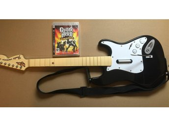 PS3 SPEL Guitar Hero World Tour & Gitarr / Gitar