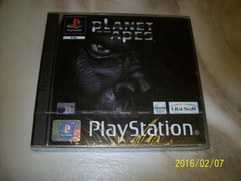 PLANET OF THE APES ( APORNAS PLANET ) NYTT INPLASTAT (PS1)
