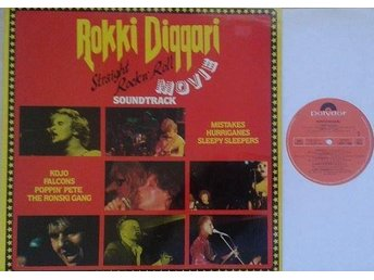 Various Artists  titel*  Rokki Diggari* Rock & Roll, Rockabilly LP