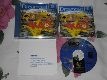 SEGA Dreamcast: Kao the Kangaroo