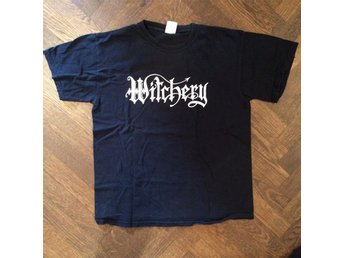 Witchery T-shirt (black death thrash metal)