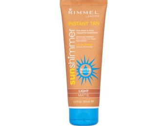 Rimmel Sunshimmer Instant Tan Water Resistant Light/Matte