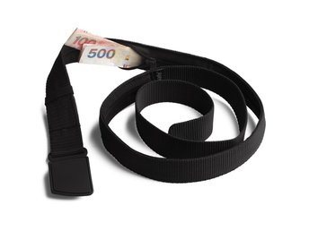 bälte med dold ficka PACSAFE ANTI-THIEF TRAVEL BELT WALLET