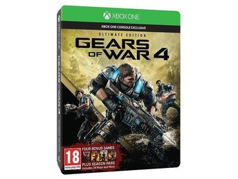 Gears of War 4 - Ultimate Edition Xbox One [NYTT!]