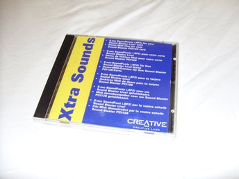 Creative Xtra Sounds Creative Labs CD ROM Sound Blaster 1998 Nyskick!