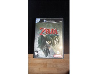 Zelda: Twilight Princess - Gamecube - SWD