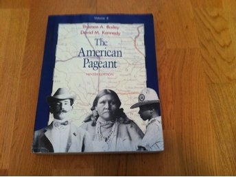 The American Pageant - A history of the Republic Volume I, Ninth Edition, 1991.