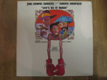 Filmmusik-The Staple Singers-Let`s Do It Again (LP)