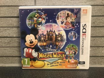 Disney Magical World  - Nintendo 3Ds - Svensksålt