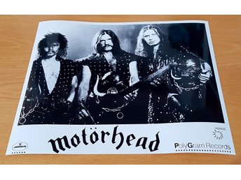 MOTÖRHEAD 1982 PHOTO POSTER