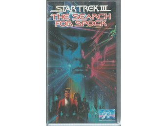 STAR TREK - THE SEARCH FOR SPOCK - VHS ( SVENSKT TEXT )