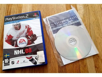NHL 08 PS2 - Oöppnat
