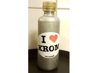 20% OFF! CHRISTMAS DISCOUNT! Kromtags Ink - Berlin Krom 250ml Silver Påfyllning