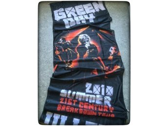 Green Day posterflagga - 21th Century Breakdown Tour concert flag Ullevi rock