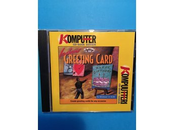 CD-ROM Instant Greeting Card