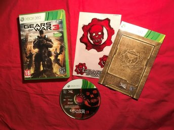 GEARS OF WAR 3 XBOX 360 FINT SKICK