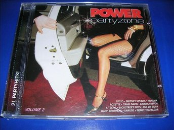 POWER PARTYZONE 2 - titiyo,britney s,fragma,gorillaz,(cd)