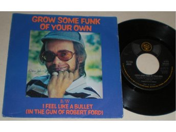 Elton John 45/PS Grow some funk of your own 1975