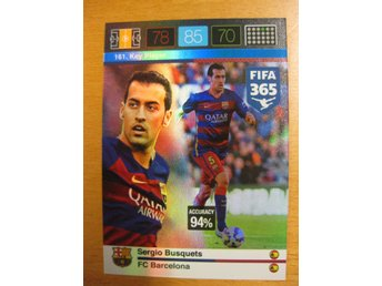 KEY PLAYER - SERGIO BUSQUETS - BARCELONA - ADRENALYN - FIFA 365