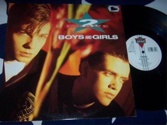 "2 BRAVE - BOYS AND GIRLS 12"" 1989 UK EXTEND"