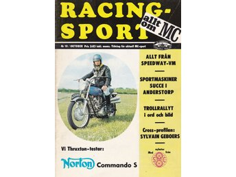 Allt Om Mc 1969-10 Norton Commando S Stor Test..Speedway