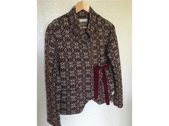 Lovely knit jacket stl 3, cherry - Vingåker - Lovely knit jacket stl 3, cherry - Vingåker